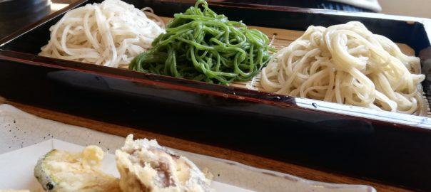 和か菜 3色蕎麦
