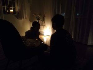 栃木で開催した瞑想会